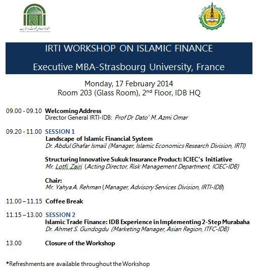 Programme IRTI