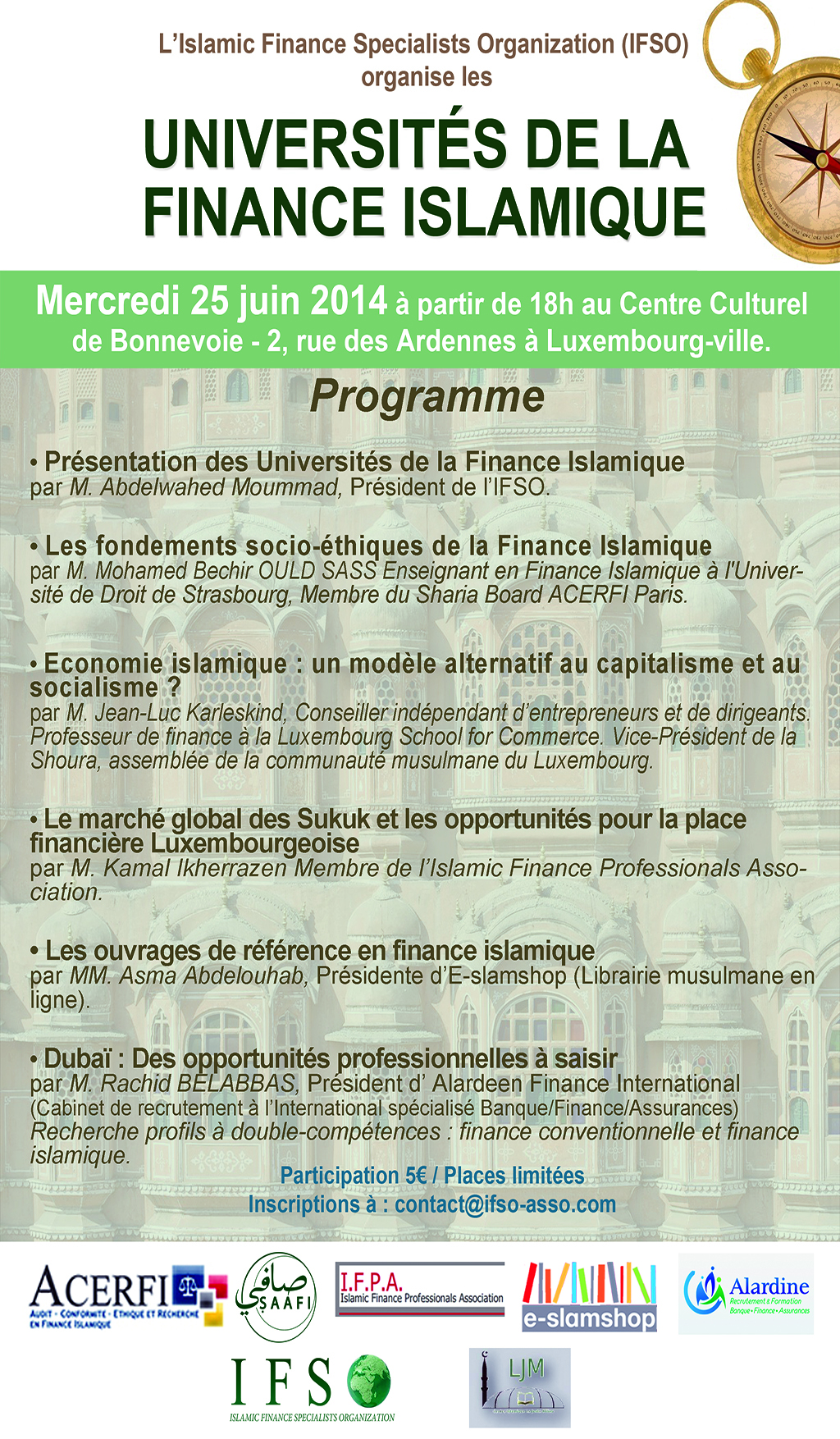 Université de la finance islamique à Luxembourg